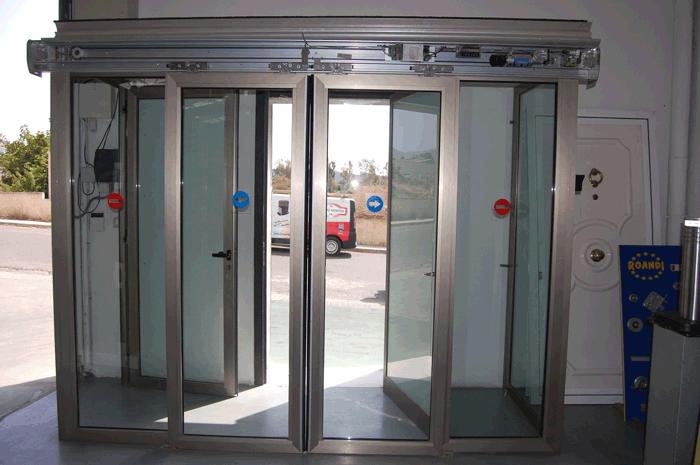 Puertas automáticas de cristal